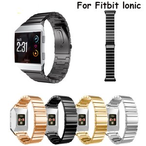 Armband für Fitbit Ionic-Uhrenarmband Edelstahl-Metall-Uhrenarmband Einzigartiges Polierprozess Geschäft Ersatz Uhrenarmbands