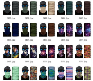 US STOCK unisexes pour le cyclisme Magic Head Visage Masque de protection Tube Neck Gaiter Biker Bandana Foulard Bonnet Cap Wristband Sports de plein air