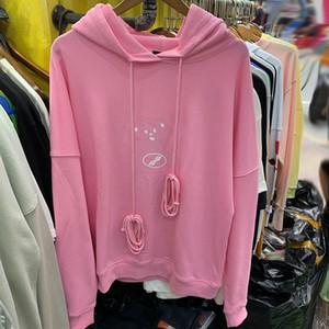 20ss Hoodies Männer Frauen Schwerer Stoff Herbst-Winter-Hoodiepullover beiläufige Sweatshirts