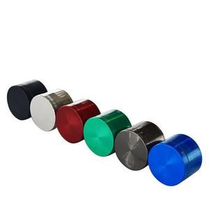 Novo padrão de Metal Grinder com 4 camadas de metal liga de zinco padrão 50MM Acessórios fumadores manuais ferramentas de moagem T2I51376