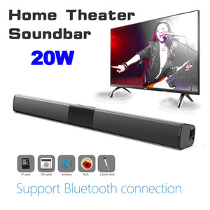 BS-28B-falante Bluetooth Soundbar portátil baixo pesado sem fio Remote Desktop Control Speaker Car Home Theater com telefone PC