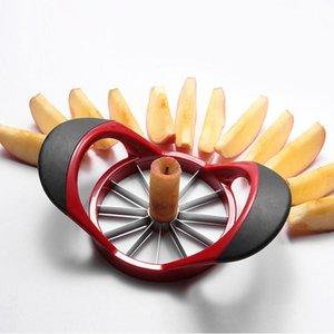 Neue Edelstahl-Küche-Gadget Multi Cutter Werkzeug Convenient Apfel Obst Cutter Dicing Slicer Home Nützliche Maschine