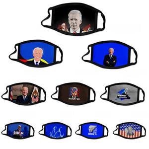 2020 Election Trump Joe Biden américain Élection réutilisable coton anti pollution soie glacée Masque bouche visage