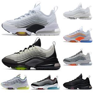 nike air max airmax zoom ZM950 hombres de la llegada mujeres de los zapatos corrientes 950 Triple Core Negro Blanco de para hombre entrenadores deportivos zapatillas de deporte