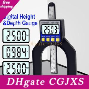 Digital Depth Pinza Altezza calibro digitale di profondità di impronta del calibro Lcd magnetica Auto Standing Apertura 0 -80mm