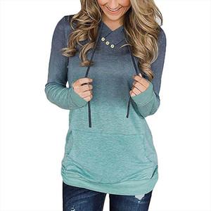 Hoodies Sweatshirt Women Pocket Long Sleeve Hoodies Sweatshirt Pullover Tops Female Casual Coat Hoodie Moletom Sudadera Mujer