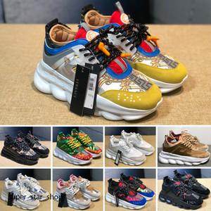 Última cadena hombres sneakes xshfbcl las zapatillas de deporte para hombre de las mujeres zapatos de deporte de cuero de los zapatos ocasionales Formadores Ligera suela de Chaussures