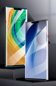 Adequado para tela Huawei Mate30pro Super vidro temperado 3D 9H cobertura completa Mate20pro P40pro P30pro à prova de explosão Tela Jelly completa Glue