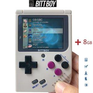 Cgjxs retro del videojuego, Bittboy V3 .5 8GB / 32GB, Consola de juegos, jugadores del juego portátil, consola retro, la carga más juegos de la tarjeta SD T200410