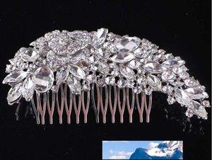 NEW Wedding bridal headdress bridal Hair Accessories Full drill Pan head Edge comb tuck comb Wedding Accessories TS57