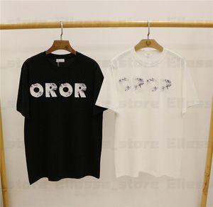 20SS fósil de Pringting Tee diseñador para mujer para hombre T Shirts camiseta del hombre France marcas Top camisetas para mujer camisetas de manga corta ae camisetas asiática S-XXL