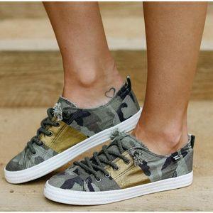 Женщины Плоский зашнуровать Холст Женская обувь Осень Leopard Женская обувь 2020 Мягкая Повседневный Shallow Summer Sneaker комфорт при ходьбе