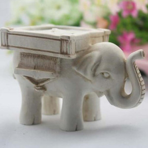 Good Luck Elephant TeaLight Holder Candle Holder Wedding Favors with Candle Inside Party Table Decoration Gifts LX2928