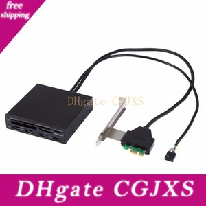 3 .5inch Pci Express To Usb 3 .0 Internal Combo Front Panel 4 Port Hub All In 1 Internal 3 .0 Card Reader Adaptor