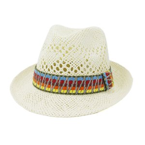 New Arrivals Time-Limited Designer Spring Summer Men and Women Outdoor Travel Sun Protection Sunbonnet New Hand-Woven Jazz Hat Free Shipping