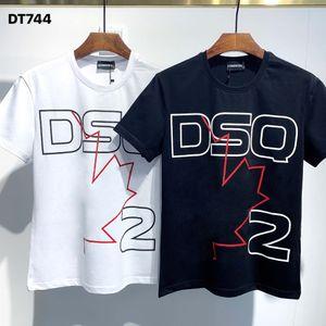 DSQ Phantom Tortue 2020ss New Mens Designer T-shirt Italie T-shirts Été Hommes DSQ T-shirt Homme Top Qualité 100% coton Top 4007