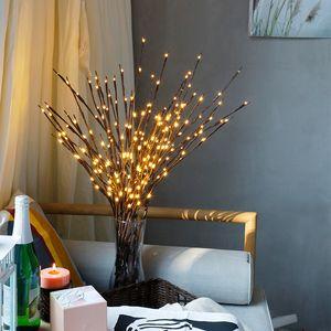 فروع جديدة مصباح عيد الميلاد الديكور المنزلي الجنية الضوء حفل زفاف ضوء شجرة عيد الميلاد رومانسية عيد الميلاد الديكور