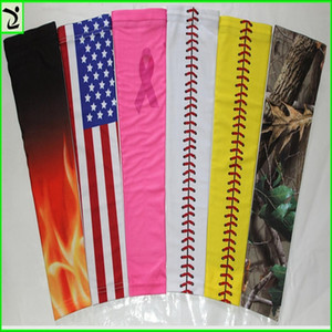 2020 para fita do cancro do braço baseball manga costura Real Arm Sports luva Basketball Baseball Futebol Camo 138 cores