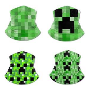 Minecraft tutta larghezza sciarpa di seta stampata ghiaccio per i bambini consistenza morbida pelle-amichevole traspirante acqua-assorbente rapida essiccazione morbido turbante Epacket