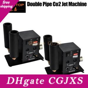 Control / Mano óptimas etapa luz 2xlot tamaño mini Co2 Cryo Jet Con lateral doble Jet boquilla DMX512 2 Canales Co2 Niebla Sistema de refrigeración AC90V -24