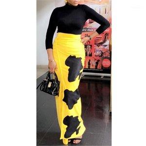 Solid Print Mujer vestido de las mujeres del color del contraste vestidos de las señoras ocasionales de fiesta atractivo del resorte de la ropa