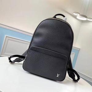 Alex Backpack New Arrival Men Moda Couro Zipper Bag Luxo Designer Masculino Mochilas Mens estilo clássico de Viagem Mochila Riefsaw Drop Ship