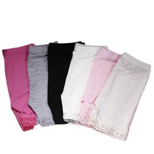Children modal cotton shorts fashion lace short leggings for girls safety pants baby short tights girls safety pants anti-light shorts