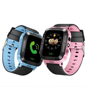 Q528 Children Smart Watch With Flashlight Baby Watch 1.44inch SOS Call Location Device Tracker for Kid Safe watches