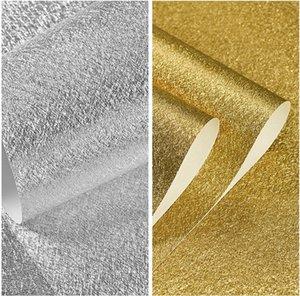 Высокое качество 3D золотые фольги обои Рулон для Wall ПВХ водонепроницаемых поверхностей бумаги Luxury Wall Для Бара Гостиных Современных стен декор