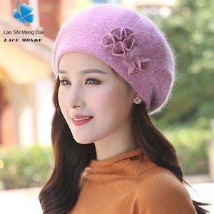 IPh7O Laine mao Mao Chapeau de laine