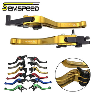 SEMSPEED FZ-07 MT-07 logo Short levers For mt07 mt fz 07 fz07 2014-2020 2020 2020 Motorcycle CNC Brake Clutch Levers Part
