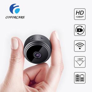 COFORCARE 1080P Mini Wifi Camera Home Security IP Camera CCTV Surveillance Video Record IR Night Vision Motion Detect Cam