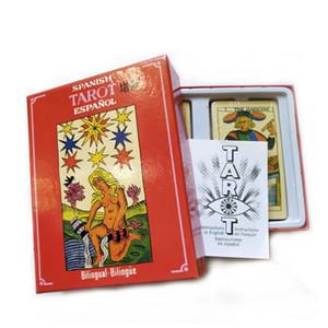22pcs Tarocchi Alta spagnolo gioco di alta qualità 100pcs Consiglio Carte divertente gioco classico di qualità 78pcs mywjqq Game Cards Tarot behZy