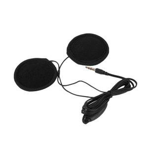 Motorrad-Sturzhelm Intercom Sprech Headset Motorrad GPS Navigation Helm Kopfhörer intercomunicador motocicleta Kopfhörer