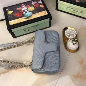 Мода Love Heart V Wave Pattern сумка дизайнер сумка плечо цепи сумка Роскошного Crossbody Кошелек Lady Tote сумка с коробкой Weekend B # нять свою