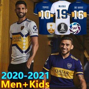 2020 2021 بوكا جونيورز لكرة القدم جيرزي هوم أبا بوكا جونيورز GAGO OSVALDO CARLITOS PEREZ DE ROSSI TEVEZ PAVON JRS MEN + KIDS