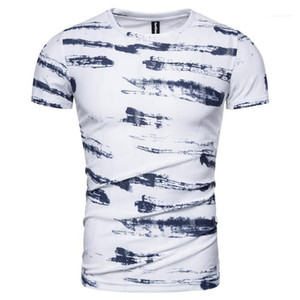 Men Casual Shirt Print Quality T-shirt Sleeve 2020 New Men T Mens Streetwear High Summer Short Designer Shirt Xskfh