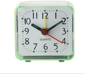 Eco Friendly Home Outdoor Portable Cute Mini Cartoon Multi-function Trip Bed Beep Desktop Alarm Clock Mini Portable Table