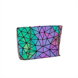 Messenger Bag Womens Bag 2020 Fashion Luminous Geometric Sling Bag Sac Femme Shoulder Strap Female Bolsas Feminina 2020
