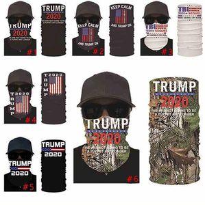 Maschere Trump elezioni americane di stampa Turbante Suncreen magica Fazzoletto Sciarpa Dustpoof Sciarpe Partito all'aperto Mask IIA427