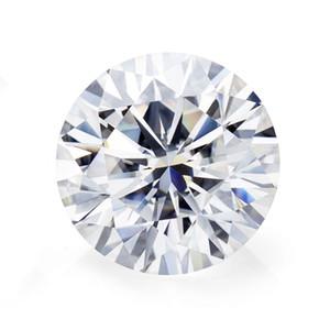 0.5CT-1CT Natural Loose Moissanite Diamond VVS1 Test Positive Stone for Rings Earrings Pendant Brilliant Forever