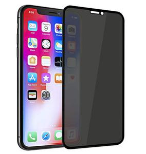 2020 Nouvelle protection en verre iphone 7 8 6s PIphonex Anti-espion Film IP 8 Glass Plus Film Trempé pour téléphone mobile 11promax Anti-chute Anti-peepin