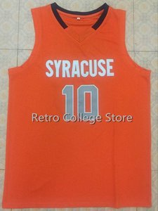 10. Trevor Cooney Syracuse Orange Basketbol Jersey Tüm Boyut Nakış Dikişli özelleştirme herhangi bir ad ve Formalar yelek isim XS-6XL