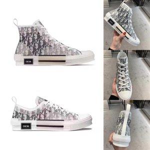 New Dor Oblique Homme X por Kim Jones B23 Homens Mulheres Moda Designer Triple S calçados casuais High Top Sneakers EUR36-45