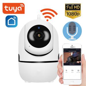 كاميرا 1080P تويا واي فاي كاميرا IP سحابة التخزين 2MP IR للرؤية الليلية اتجاهين الصوت الرئيسية مراقبة لاسلكية صغيرة