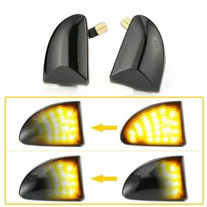 순차 LED 사이드 마커 라이트를 켜고 신호 라이트를 들어 스마트 포투 W451 07-14