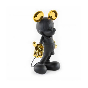 Home Mobiliário na moda 30cm Leblon Delienne Mik Mouse Figuras Mobiliário Toy Garage Kit Decore Coleção Escultura Resina Kit