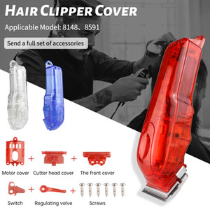 Transparent Hair Clipper Cover For 8148 8591 Fashion Hair Styling Tool PC Material Hairdressing tool Barber Accessories