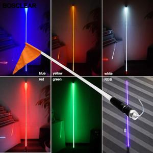 UTV ATV Kamyon Cadılar Bayramı dekorasyon ışıklar için Kum Buggy LED Kırbaç Işık Su geçirmez Bayrak Direği Emniyet Anten Kırbaç Işıklar