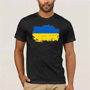 2020 Bandeira Nacional Moda T Shirtblwhsa Ucrânia Verão S Para Cheermen Flag Casual 100 Cotton Nostalgic Ucrânia Camiseta